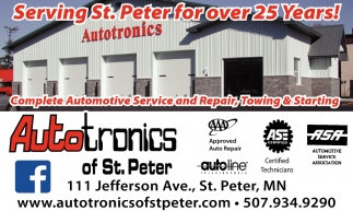 Complete Autmotive Service and Repair, Towing & Starting
