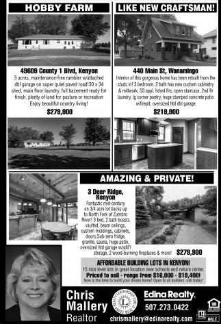 Hobby Farm, Homes