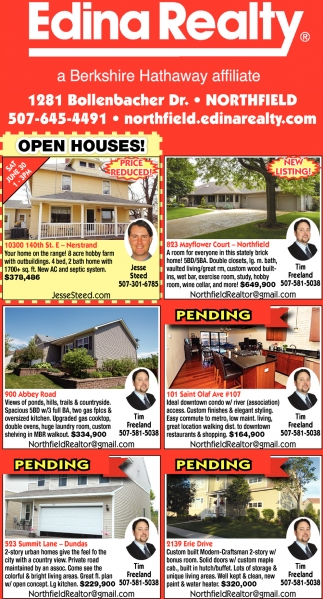 Open Houses!