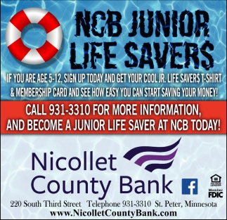 NCB Junior Life Savers