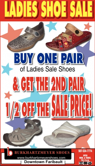 Ladies Shoe Sale
