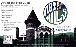 Art on the Hills 2018, Owatonna Arts Center, Owatonna, MN