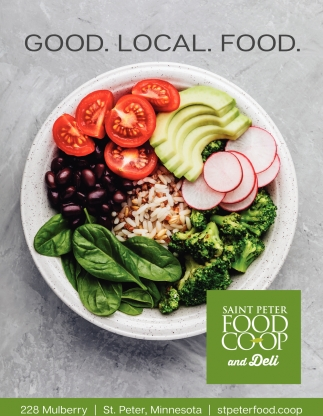 Good. Local. Food, Saint Peter Food Coop, St. Peter, MN