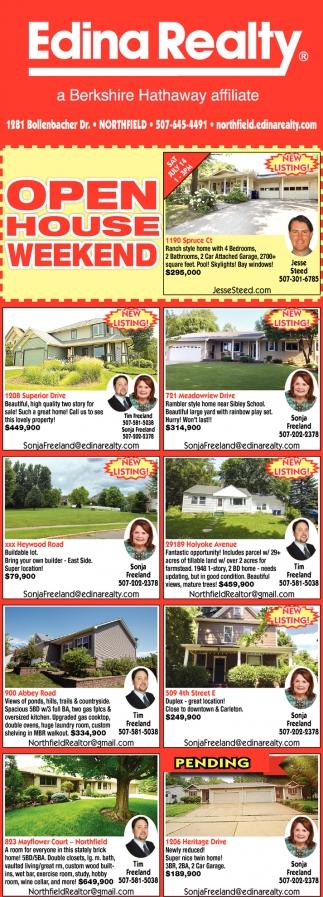 Listings - Jesse Steed, Sonja & Tim Freeland