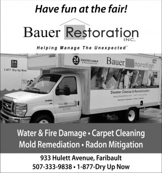 Have fun at the fair!, Bauer Restoration, Faribault, MN