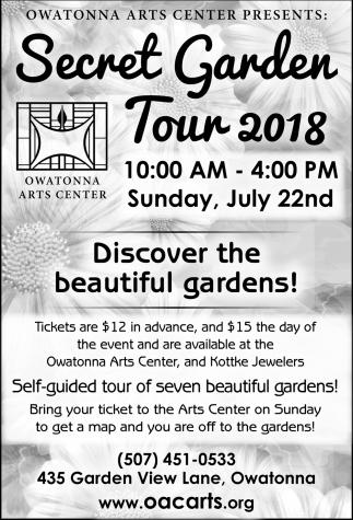 Secret Garden Tour 2018