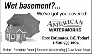 Radon, Foundation Repair, Baement Waterproofing