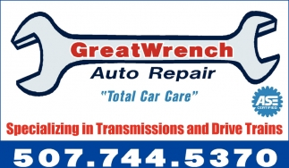 Total Car Care, Greatwrench Auto Repair