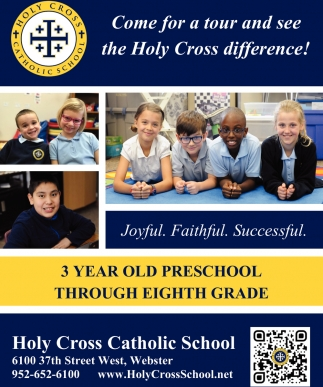 Come for a tour and see the Holy Cross difference!