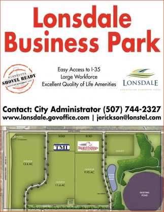 The newest and largest Business Park in the Lonsdale area, Lonsdale Bussiness Park