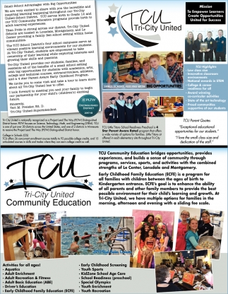 Small School Advantages with Big Opportunities, Tri-City United Public Schools, Montgomery, MN