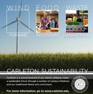 Carleton is a proud steward of our planet