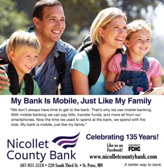 My Bank is Mobile, Just Like My Family