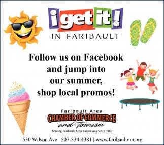 Summer shop local promos!