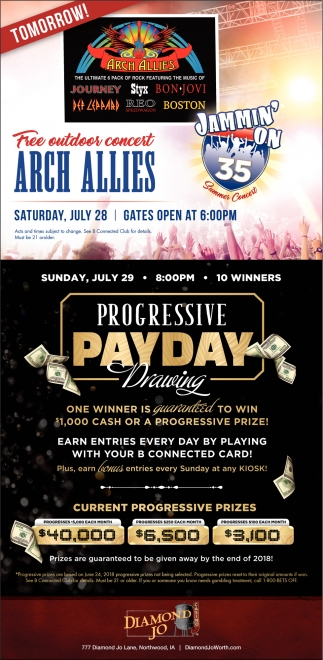 Free outdoor concert - Arch Allies