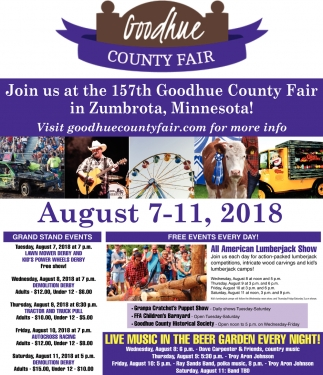 157th Goodhue County Fair