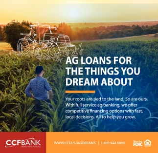 Ag Loans for the things you dream about