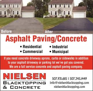 Asphalt Paving / Concrete