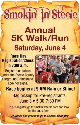 Annual 5K Walk/Run