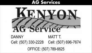 Serving Southern Minnesota Farmers