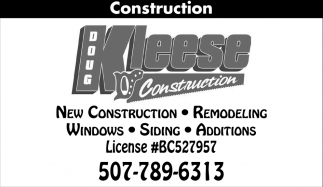 New Construction, Remodeling, Windows, Siding, Additions