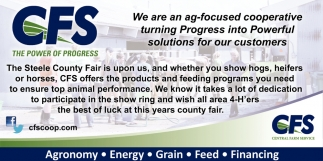We are an ag-focused cooperative turning Progress into Powerful solutions for our customers