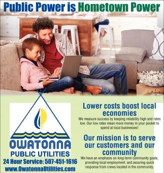 Public Power is Hometown Power