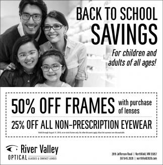 Back to School - Savings