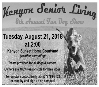 8th Annual Fun Dog Show