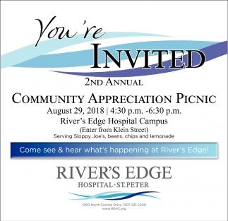 2nd Annual Community Appreciation Picnic