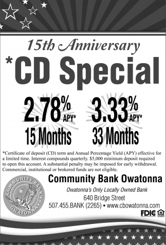 15th Anniversary CD Special