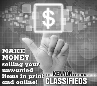 Make Money selling your unwated items in print and online!, Kenyon Senior Living, Kenyon, MN