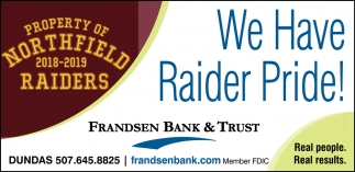 We Have Raider Pride!
