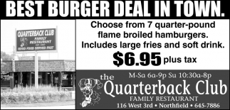 Best Burger Deal in Town
