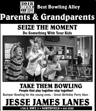 Best Bowling Alley - Parents & Grandparents