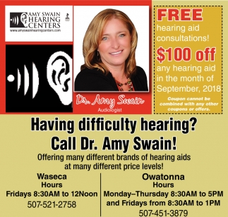 Free hearing aid consultations! $100 off