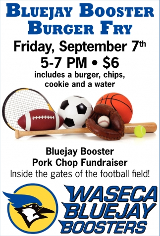 Bluejay Booster Burger Fry