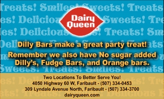 Dilly Bars make a great party treat