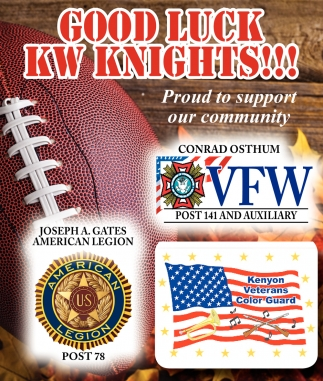 Good Luck KW Knights