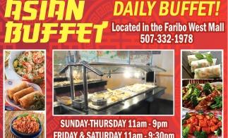 Daily Buffet