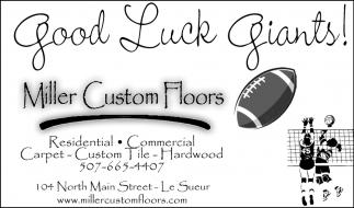 Good Luck Giants