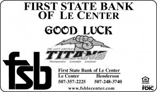 Good Luck Titans