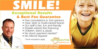 Exceptional Results & Best Fee Guarantee