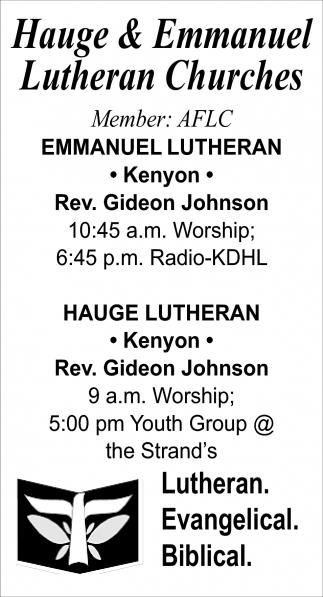 Rev. Gideon Johnson