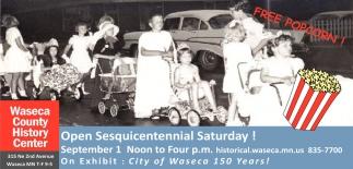 Open Sesquicentennial Saturday
