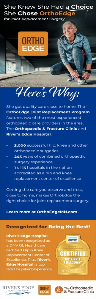OrthoEdge Join Replacement Program