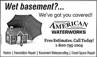 Wet basament?... We've got you covered!