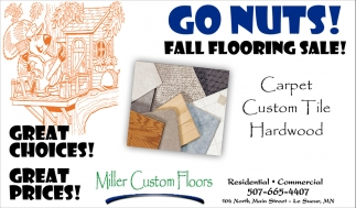 Go Nuts! Fall Flooring Sale!