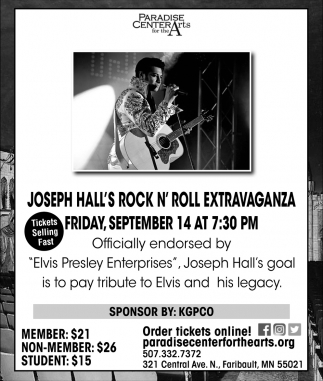 Joseph Hall's Rock N' Roll Extravaganza