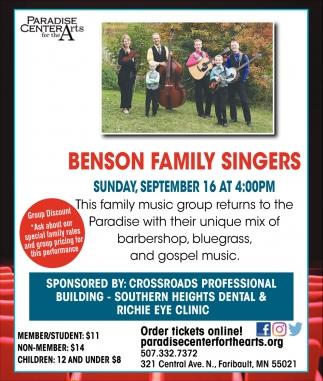 Benson Family Singers